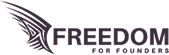 Freedom for Founders logo